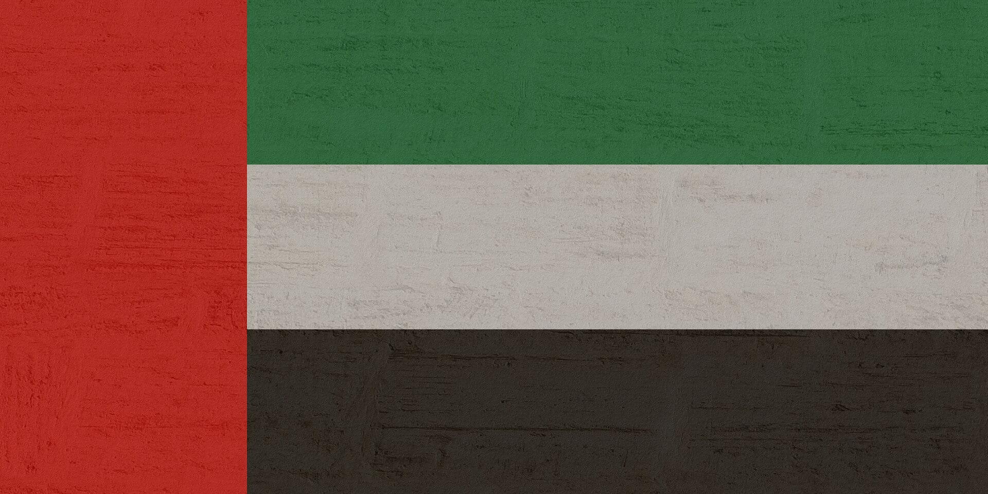 birleşik emirlikleri bayrak